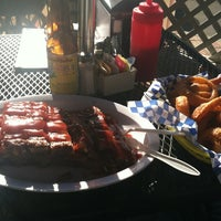 Photo taken at Starkey's BBQ by Pedro P. on 12/2/2012