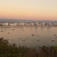Photo taken at São Martinho do Porto by Pedro S. on 12/8/2013