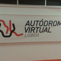 Photo taken at Autódromo Virtual de Lisboa by Ulisses C. on 11/21/2013