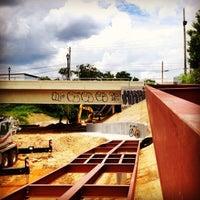 Photo taken at Atlanta BeltLine Corridor under Edgewood Ave. by Angel P. on 6/29/2014