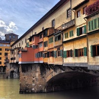 Photo taken at Ponte Vecchio by Юра К. on 2/9/2013