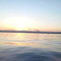 Photo taken at Marmara Denizi by Cagdas I. on 10/1/2014
