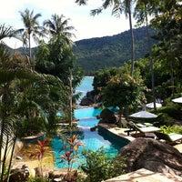 Photo taken at Panviman Resort Koh Phangan by Paul on 11/22/2012