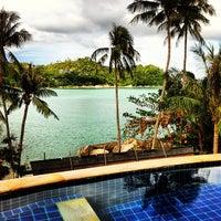 Photo taken at Panviman Resort Koh Phangan by Paul on 11/18/2012