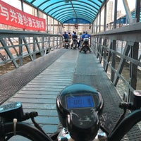 Photo taken at 复兴路渡口 Fuxing Road Ferry by Paul on 8/26/2017