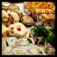 Photo taken at Sushi House by Luna M. on 2/14/2014