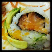 Photo taken at Sushi House by Luna M. on 3/8/2014