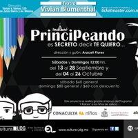 Photo taken at Teatro Vivian Blumenthal by Luis G. on 9/7/2014