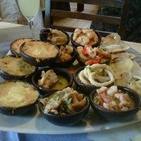 Photo taken at Restaurant La Olla by Angélica B. on 11/4/2012