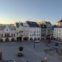Photo taken at Krakonošovo náměstí by Pavel N. on 7/18/2017