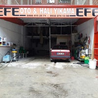 Photo taken at Efe Oto Yıkama by Turan G. on 6/13/2014