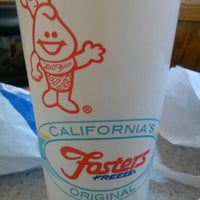 Photo taken at Fosters Freeze by Mark C. on 1/12/2013