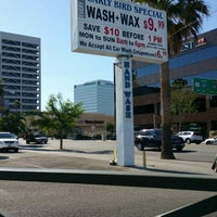 Photo taken at Sherman Oaks Car Wash by Faisal A. on 6/8/2015
