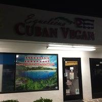 Photo taken at Equelecuá Cuban Café by Jamie J. on 5/7/2017