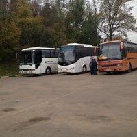 Снимок сделан в Автостанция «Новоясеневская» пользователем Irina 10/5/2013