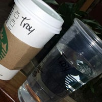Photo taken at Starbucks by TROY CLIFFORD H. on 4/10/2014