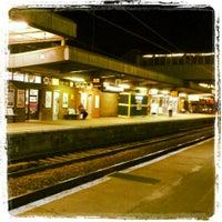 Photo taken at Peterborough Railway Station (PBO) by Elliot H. on 9/22/2013