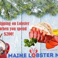 Photo taken at Maine Lobster Now by Julian K. on 12/19/2016