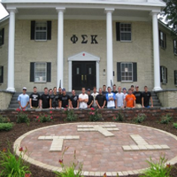 Photo taken at Phi Sigma Kappa by Phi Sigma Kappa on 10/21/2013