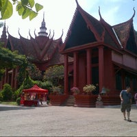 Photo taken at National Museum, Phnom Penh by DkZie™ on 12/25/2012
