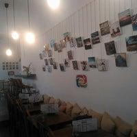 Photo taken at Yantar Café by Belen Garcia Pans on 9/24/2014