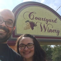 Photo taken at Courtyard Winery by Brandon E. on 8/7/2017