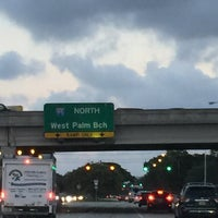 Photo taken at I-95 & Palmetto Park Rd by Lisa H. on 11/29/2016