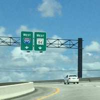 Photo taken at Florida Turnpike @ I-595 by Lisa H. on 9/9/2016