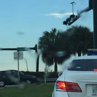 Photo taken at I-95 & Glades Rd by Lisa H. on 9/19/2016