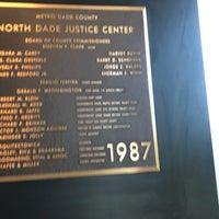 รูปภาพถ่ายที่ North Dade Justice Center โดย Lisa H. เมื่อ 2/12/2018