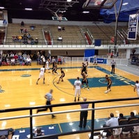 Photo taken at Moore Field House by Marcus H. on 3/15/2014