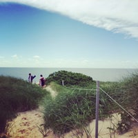 Photo taken at Bound Brook Island Beach by Andrew Y. on 7/6/2014