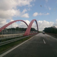 Photo taken at Spreebrücke by Антон Д. on 9/27/2014