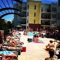 Photo taken at 1225 South Church Pool by Blake D. on 7/13/2014