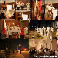 Photo taken at St. Dominic Parish by St. Dominic P. on 4/18/2014