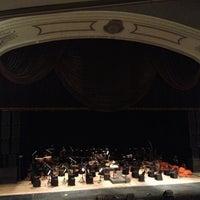 Photo taken at Teatro Popular Melico Salazar by Gilbert V. on 11/25/2012