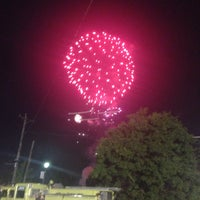 Photo taken at Carteret Waterfront Park by Preeti P. on 7/4/2015