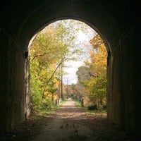 Photo taken at Montour Trail by Khaled on 10/22/2016
