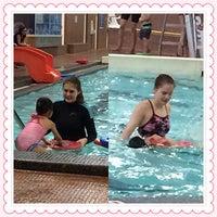 Photo taken at Cindy Klassen Recreation Complex by Cristina L. on 5/3/2014