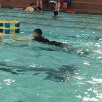 Photo taken at Cindy Klassen Recreation Complex by Cristina L. on 5/9/2014