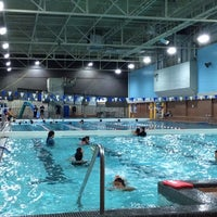 Photo taken at Cindy Klassen Recreation Complex by Cristina L. on 10/19/2013
