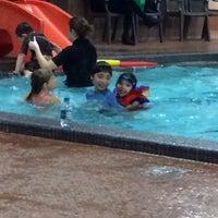 Photo taken at Cindy Klassen Recreation Complex by Cristina L. on 11/23/2013