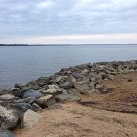 Photo taken at Black Point (Jamestown Island) by Daniel K. on 11/30/2013
