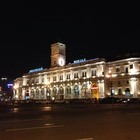 Снимок сделан в Московский вокзал пользователем Daniel K. 11/12/2013