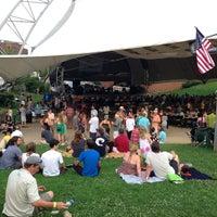 Photo taken at Sprint Pavilion by Daniel K. on 7/5/2013
