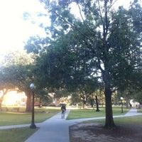 Photo taken at Gibson Quad - Tulane University by Daniel K. on 10/31/2012