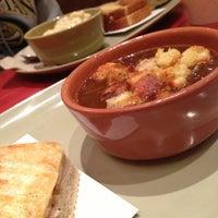 Photo taken at Panera Bread by Liza on 1/19/2013