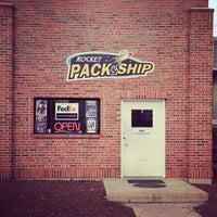 Photo taken at Rocket pack & ship by Matt D. on 3/17/2014