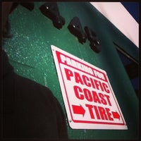 Photo taken at Pacific Coast Tire and Service by Matt D. on 2/1/2013