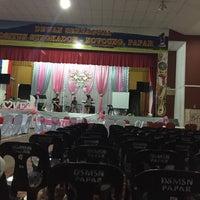 Photo taken at Dewan Serbaguna Mositun by Pamela A. on 4/29/2016